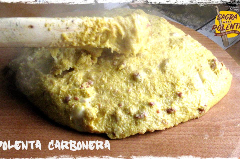 Vi presentiamo la Polenta Carbonera!